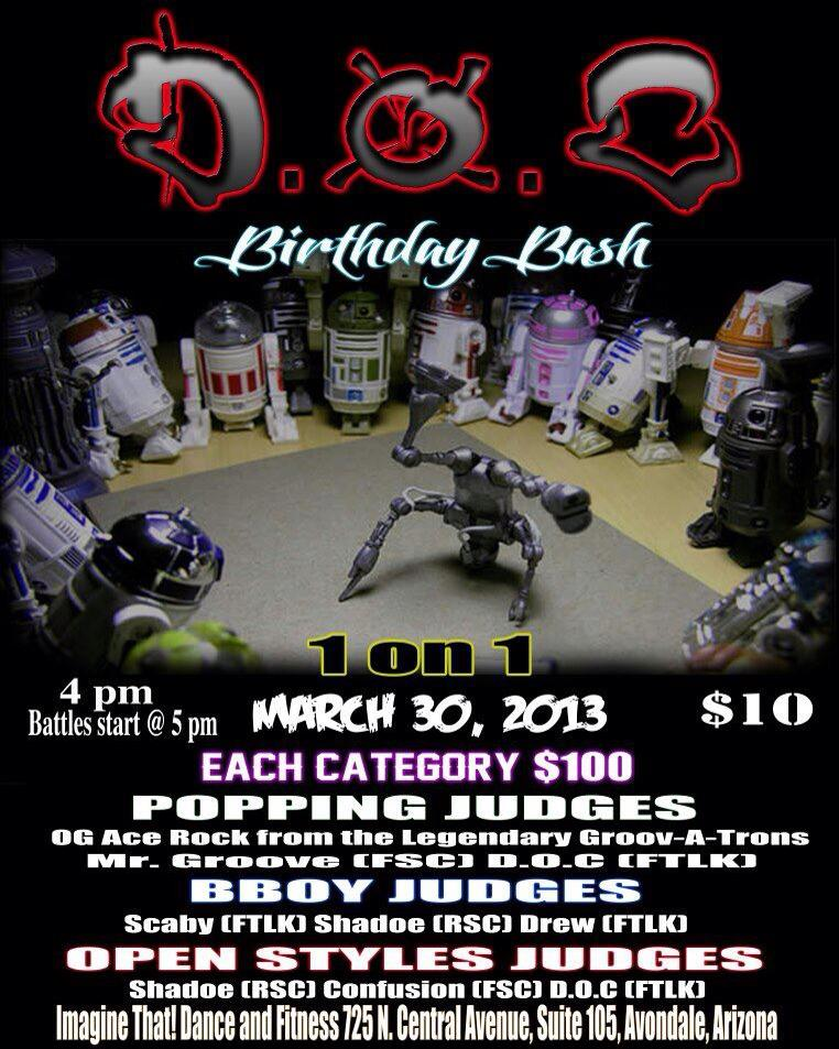 AZXclusive.com D.O.C. Birthday Bash @ Imagine That! Dance and Fitness Avondale, AZ